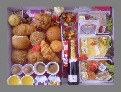 Champagne moederdag ontbijt bestellen