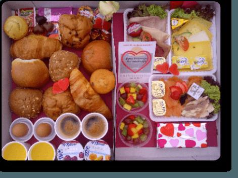 Culinair valentijnsontbijt bestellen