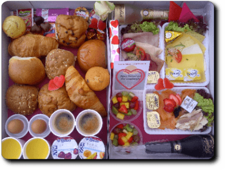 Culinair Valentijnsontbijt + Champagnoise