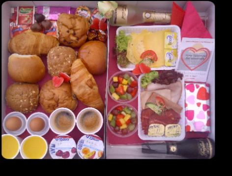 Valentijnsontbijt + Champagnoise