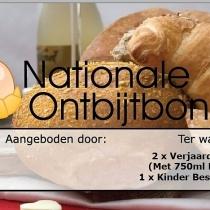 Nationale Ontbijtbon V.I.P Ontbijt