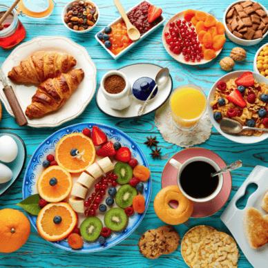 Ontbijtbuffet bestellen - Klik hier voor meer informatie