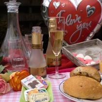 Romantische Champagne Ontbijt
