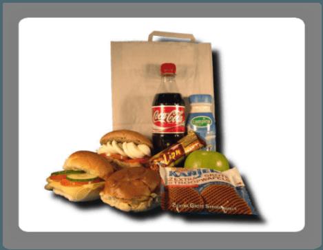 Lunchpakketten bestellen en laten bezorgen